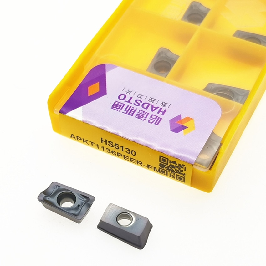 APKT1136PEER-FM HS5130 / APKT1605PDER-FM HS5130 / APKT1136PDER-FM HS5115 / APKT1605PDER-FM HS5115 ЧПУ карбдная Вставка 10 шт./кор.