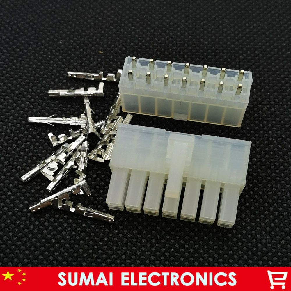 14 Pin 4.2mm 5557 i 5569 końcówki przewodów wtyczka elektryczna do PCB/CPU/car/motorcycle ect.14P