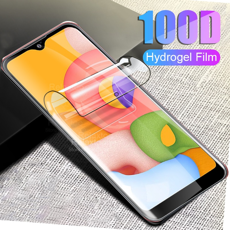 2 pièces Film Hydrogel 100D pour Samsung Galaxy a01 Film de protection pour Samsung Samsung galax A 01 Film de protection Hydrogel SM-A015F