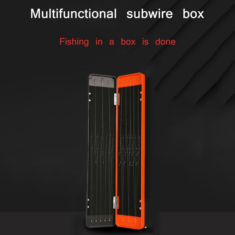 32/45/55CM Carp Fishing Tackle Box Zig Chod Stiff Hair Rig Storage Box Case For Herabuna Fishing Line Hook Fishing Accessory enlarge