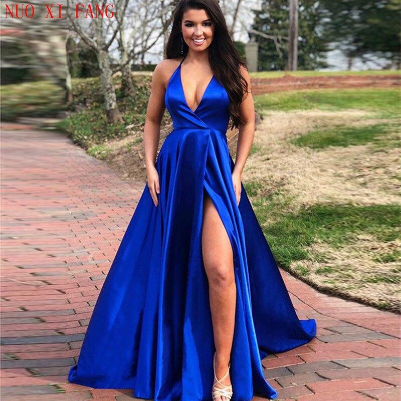 NUOXIFANG-vestidos de noche para fiesta de graduación, vestido de novia sereia, vestido...
