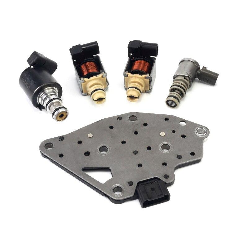 5 piezas 4T65E transmisión solenoide Kit de Epc turno Tcc para GM y Volvo Buick Pontiac 2003-( 99177)