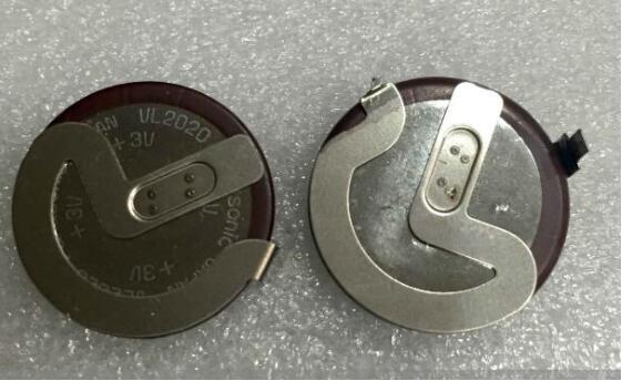 20 Pçs/lote VL2020 90 graus Botão Bateria Recarregável Frete grátis