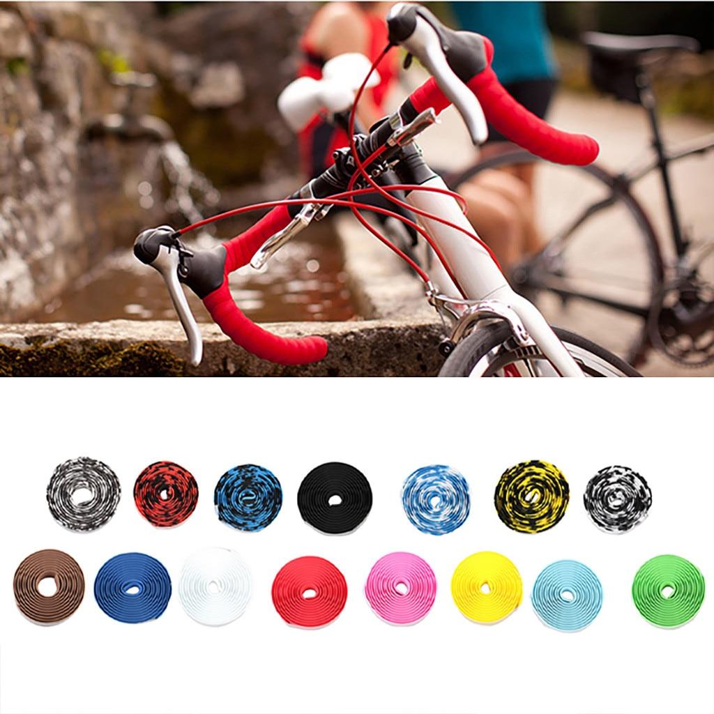 Esponja de color para manillar de bicicleta de carretera, accesorio antideslizante y...