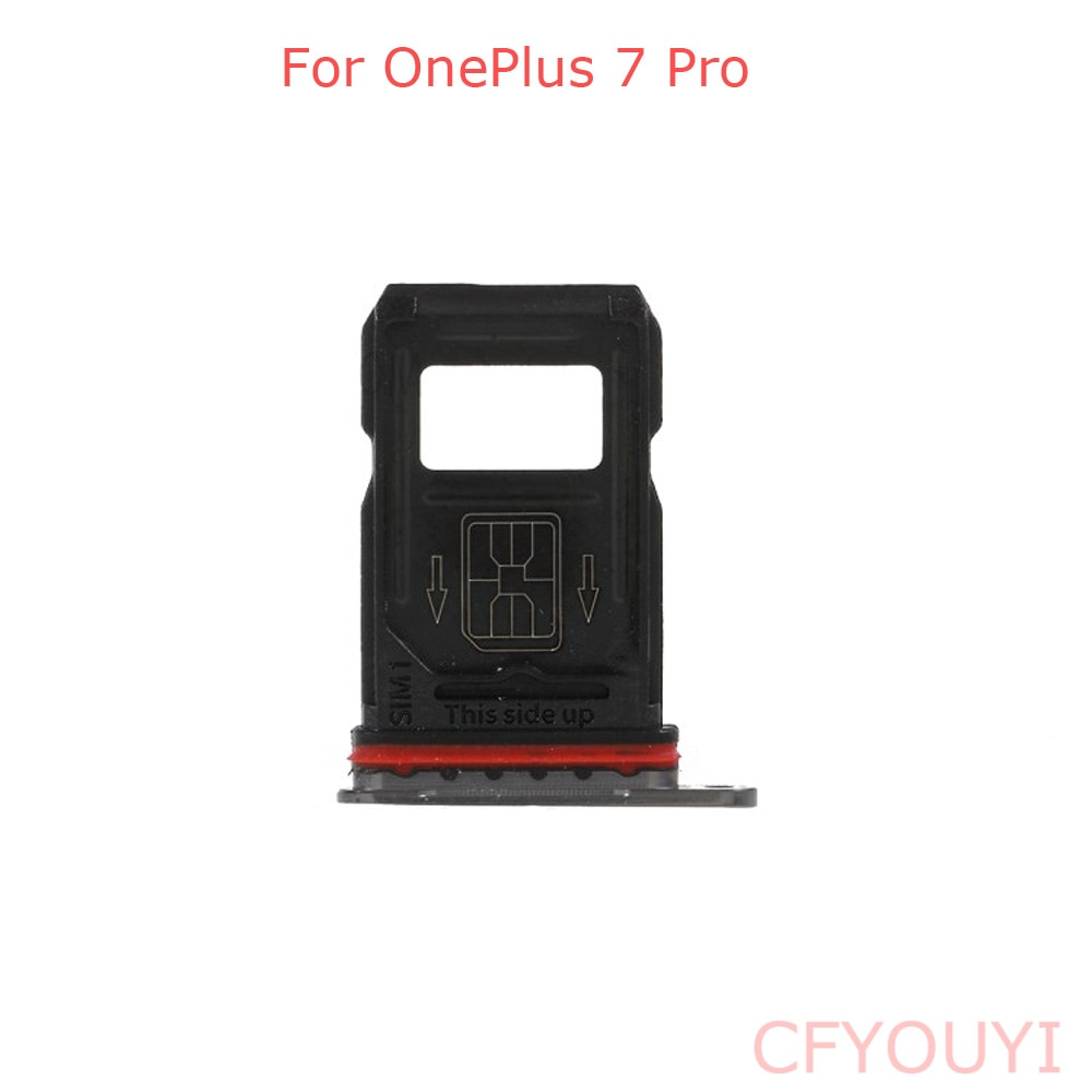 For One Plus 7pro New Dual SIM Card Tray Holder Replace Part Slot For OnePlus 7 Pro