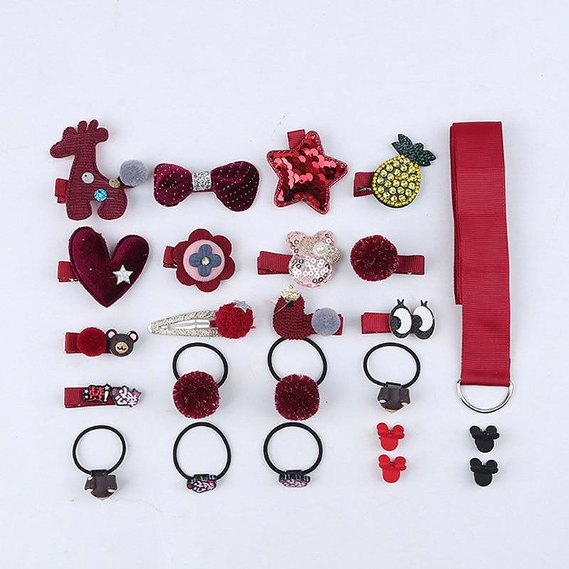 18/24 buc / set set de agrafe pentru copii, agrafe pentru flori din - Accesorii pentru haine - Fotografie 5
