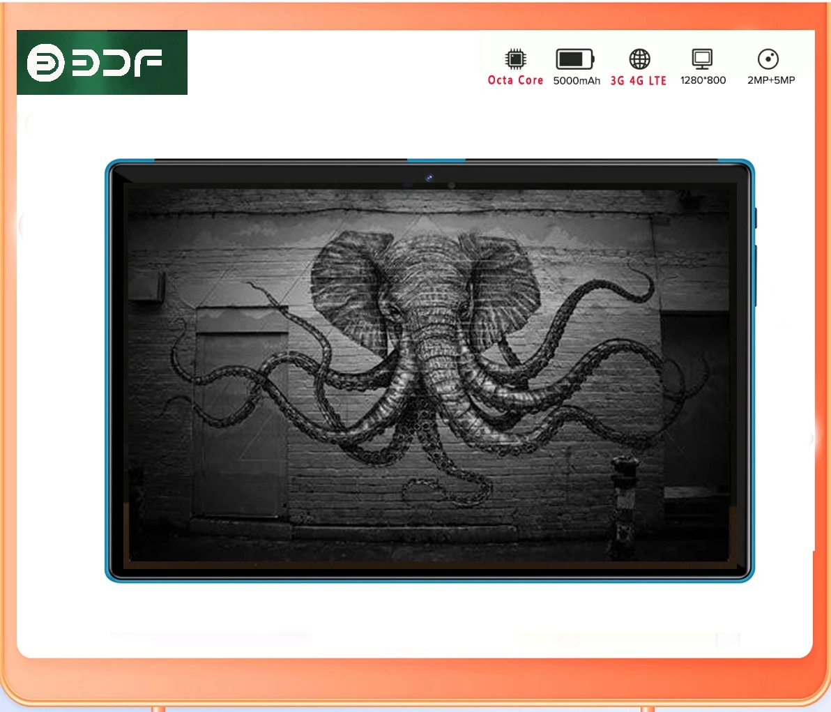 NEW 10.1 inch Tablet 4G Call Android 10 Octa Core M107 4GB RAM 64GB ROM Tab 2MP+5MP 5000mah IPS Tablet PC