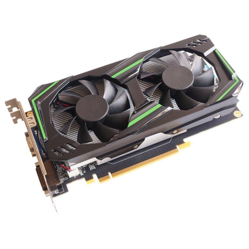 بطاقة جرافيكس للألعاب محمولة GTX 550 Ti 6GB GDDR5 192 Bit مباشرة ، PCI Express 2.0 16X مع مروحة تبريد مزدوجة للألعاب