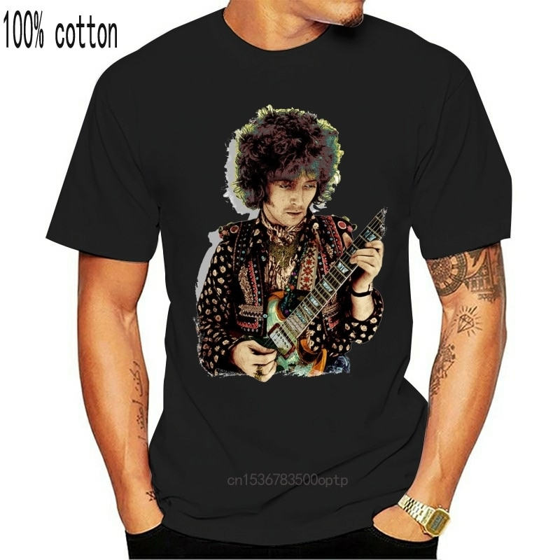 New T SHIRT Eric Clapton Psychedelic 100% Cotton Tees (LazyCarrot) cream music festival rock blues guitar concert