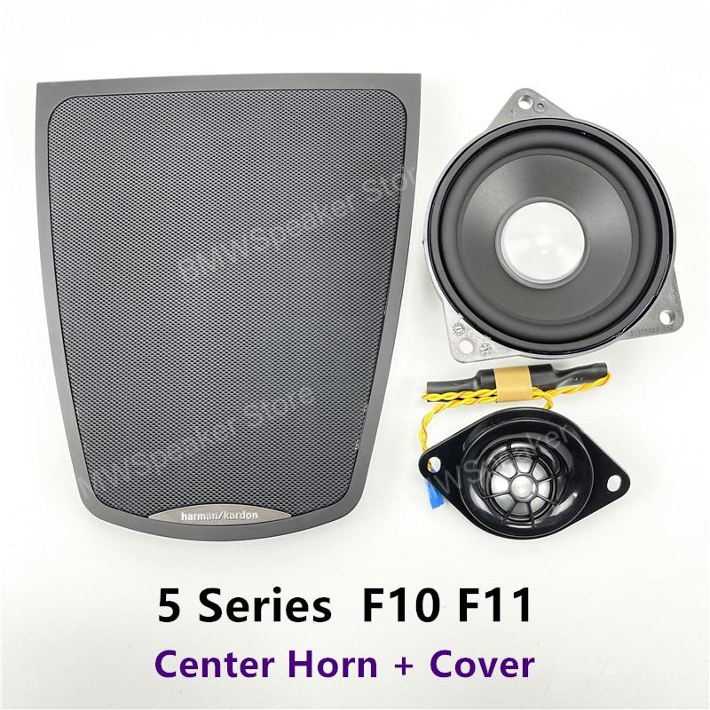 Center Console Speaker For BMW 5 Series F10 F11 Original Dashboard Panel Shell Tweeter Audio Loudspeaker Speakers Cover Refit