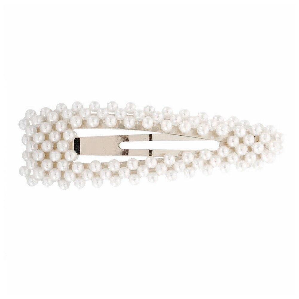Estilo tocado exquisito Bobby Pin Mini saliendo con broches de viaje nupcial Artificial perla Clip para el cabello Accesorios