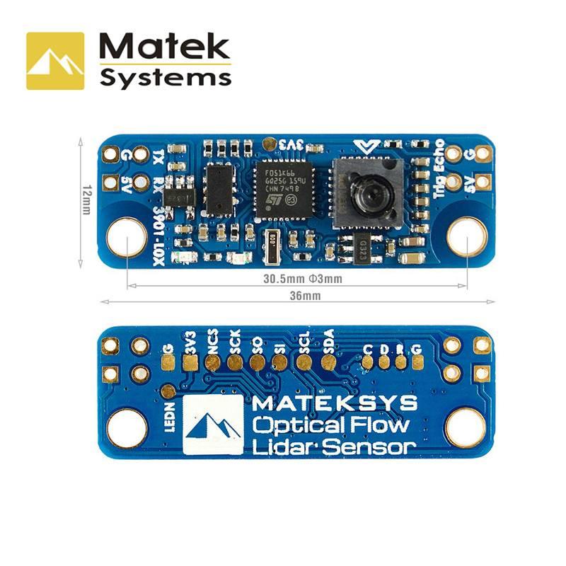 Matek System Optical Lidar Sensor Support INAV 3901-L0X Module for RC Drone FPV Racing Racer Quadcopter MultiRotor Model Toys