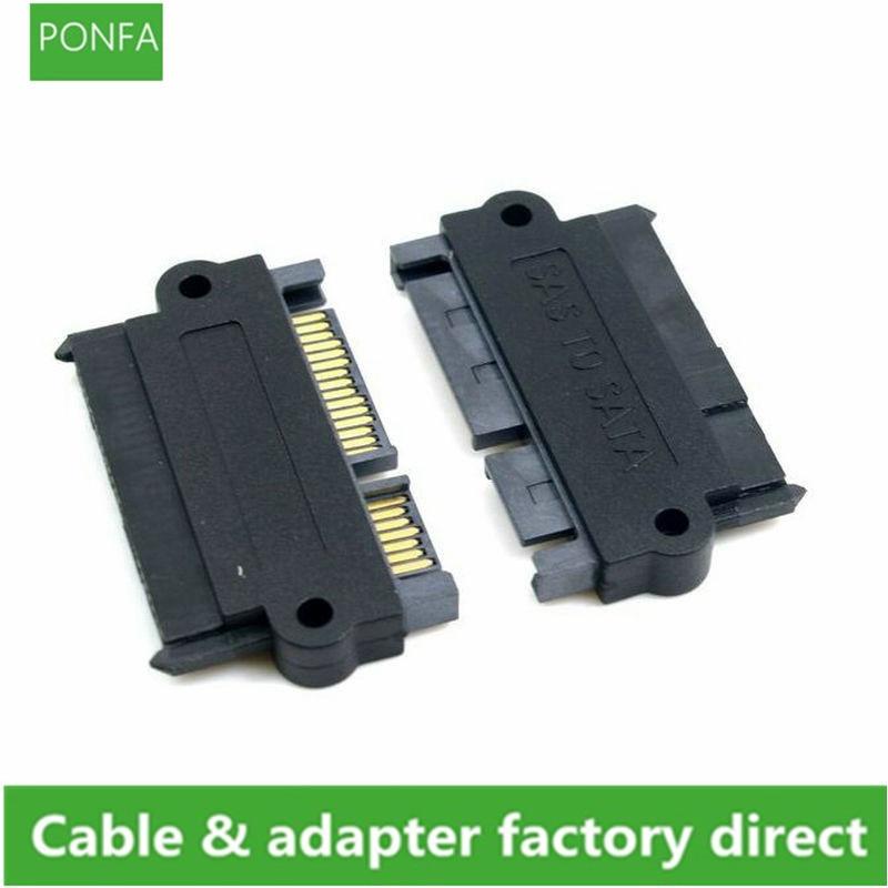 SFF-8482 SAS 22 Pin a 7 Pin + 15 Pin disco duro...