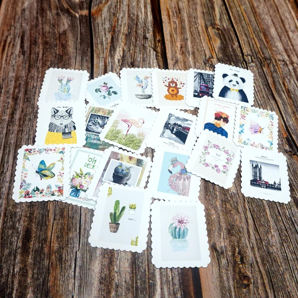 22PCS Colorful Waterproof Stickers DIY Stationery Scrapbooking Stickers Book Student Label Decorative Sticker Gift Toy Stickers недорого