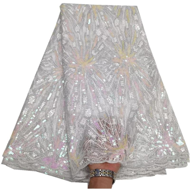 النيجيري صافي أقمشة الدانتيل مع الترتر الأفريقي تول أقمشة الدانتيل الفرنسي أقمشة 2021 شمسيّة دانتيل عالية الجودة لفستان الزفاف qx-115