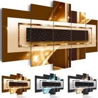 Toile dart abstraite 5 pieces  decoration murale  tableau dart moderne  affiche imprimee  mode  decoration de salon  de maison