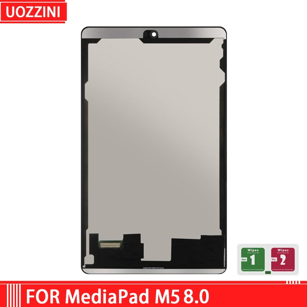 "8.0 ""novo para huawei mediapad m5 8.0"" display touch screen digitador assembléia aaa grau para huawei mediapad m5 8.0 ""branco/preto"