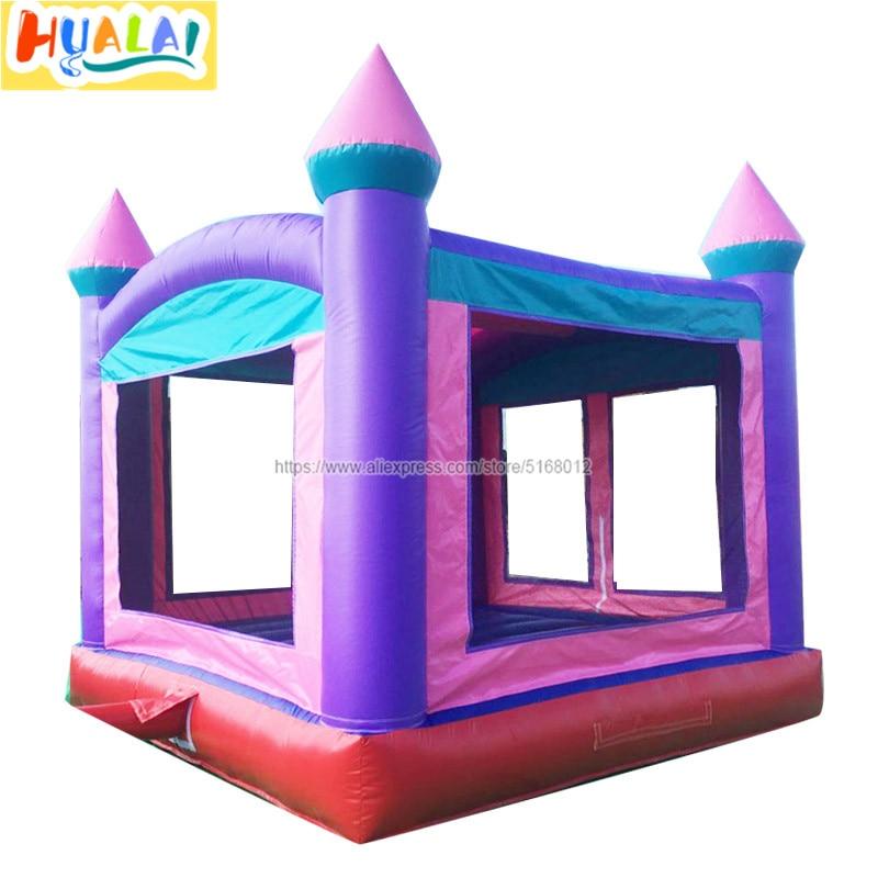 Castillo inflable para niños, castillo inflable, casa de salto, combo con juguetes soplados por aire, fábrica para salePVC, 0,55mm, 4X4X4 metros envío gratis