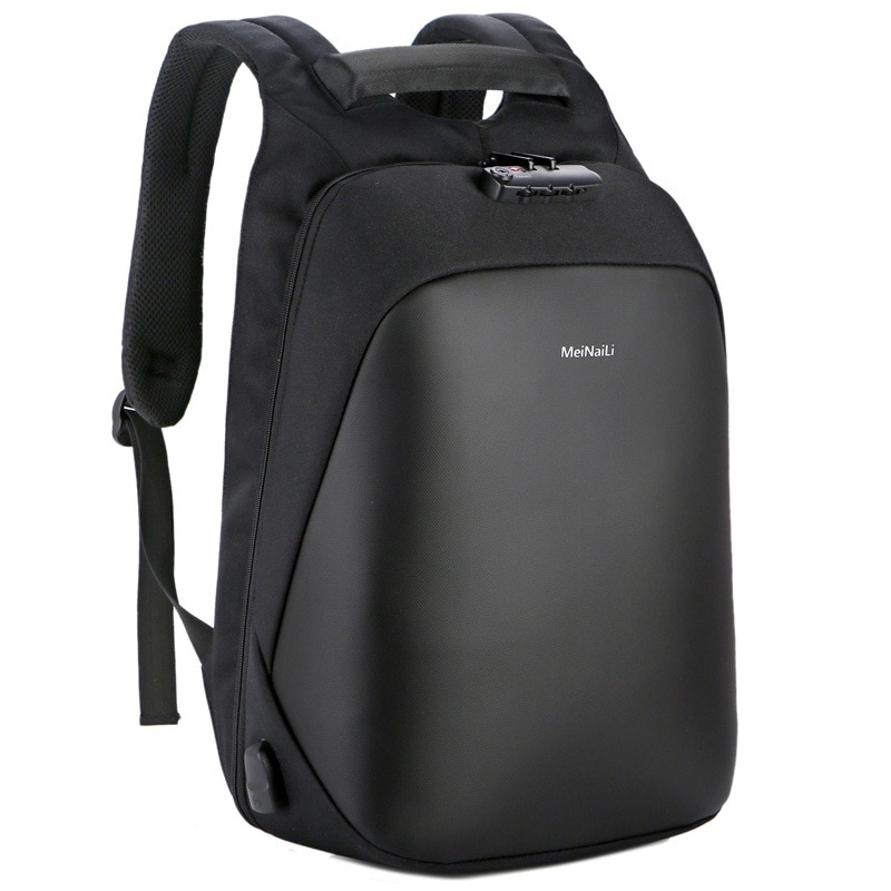 Man Backpack Multi-function USB Charging Male Waterproof Business Laptop Large Capacity Anti-theft Wholesale