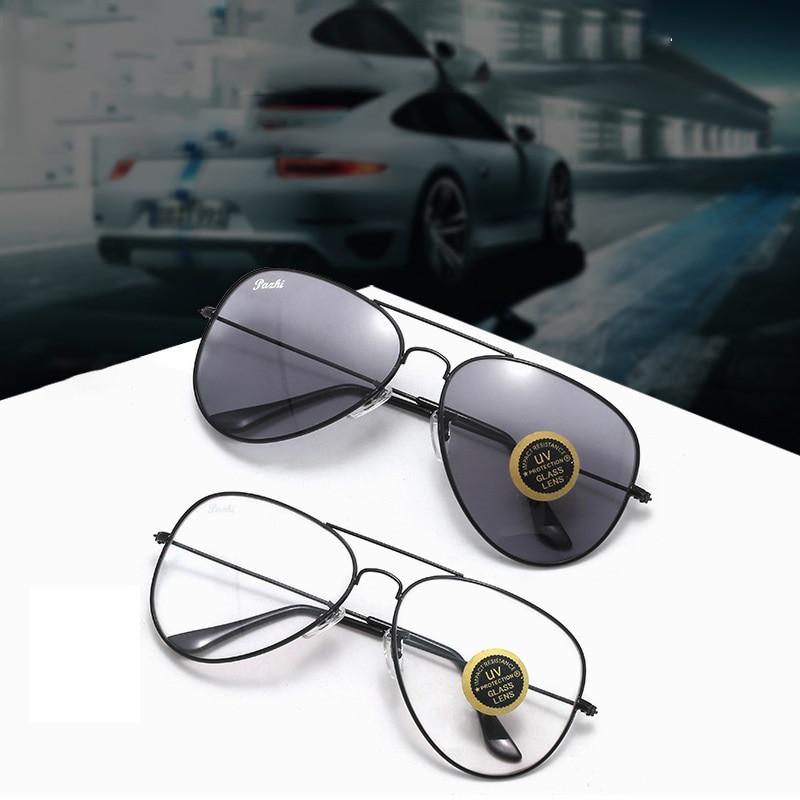 Evove Glass Photochromic Glasses Men Women Sunglasses for Male Chameleon aviation Anti Scratch driving fishing