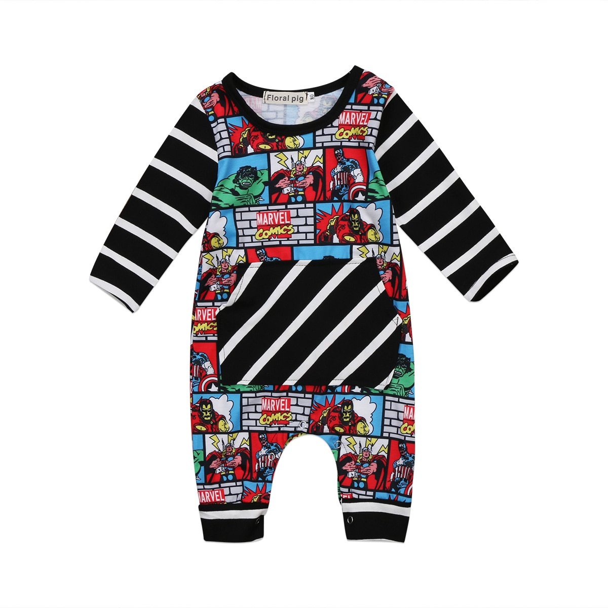 Infant Newborn Baby Clothing Boys Long Jumpsuit Rompers Cute Baby Cotton Autumn Clothes Outfits cute newborn baby clothing long sleeve cotton solid baby rompers peter pan collar girls boys clothes jumpsuit infant costumes