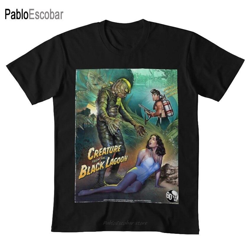 La criatura de la laguna Negra camiseta la criatura de la laguna Negra películas post malone