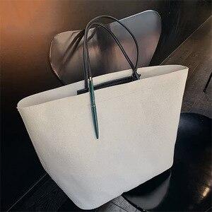 2020 Summer FashionWomen's Large Capacity Canvas Shoulder Bag Messenger Luxury Handbags Women Bags Designer Canvas Tote Bag Sac