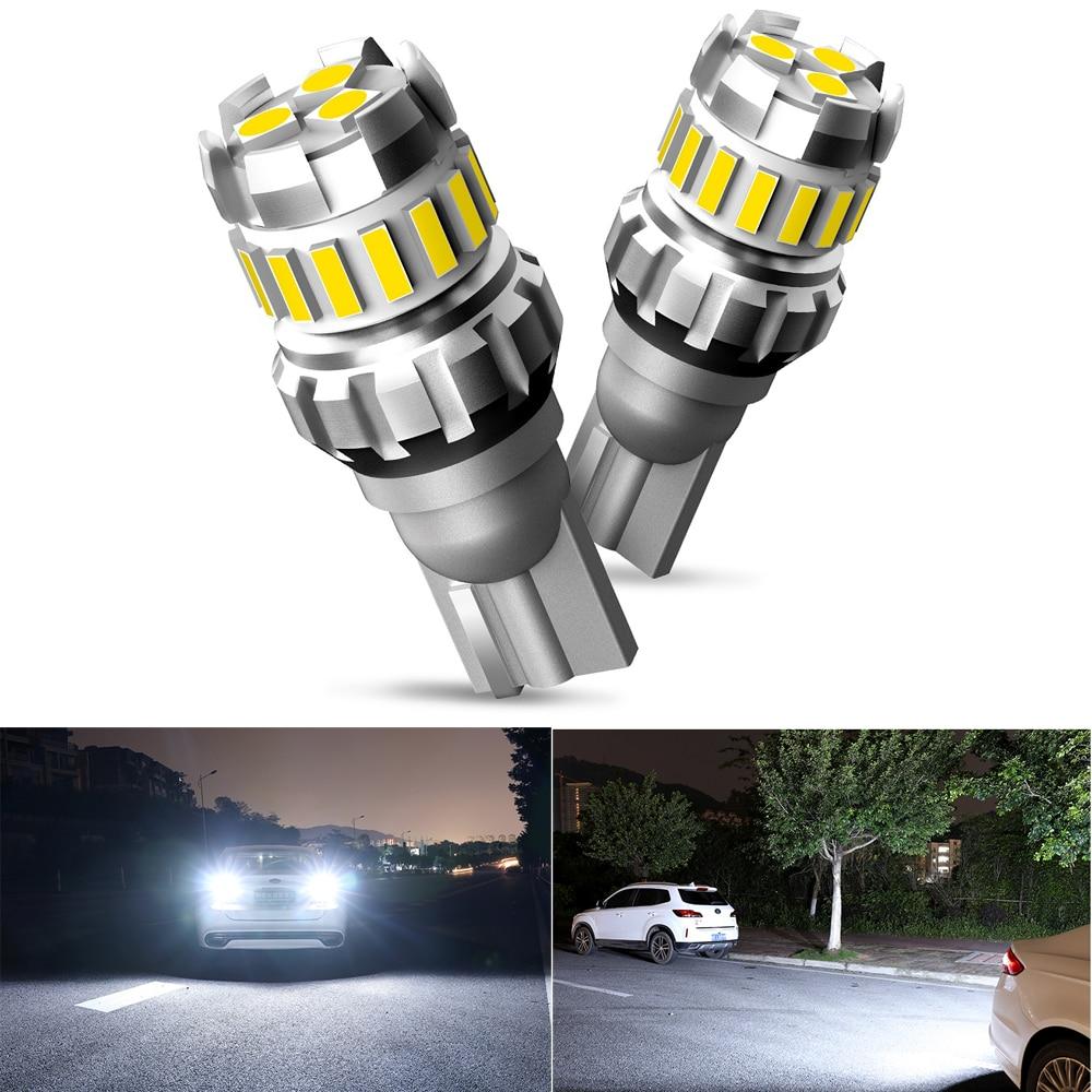 Lámpara LED de marcha atrás 2x T15 W16W para Kia Sportage Rio K2 3, reposabrazos Ceed Sorento Cerato Soul Picanto Optima K3 Led