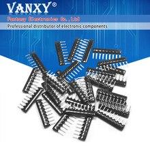 10pcs DIP exclusion Network Resistor array 9pin 100 220 330 470 510 680 1K 1.2K 1.5K 2K 2.2K 3.3K 4.7K 5.1K 5.6K 10K 100K ohm