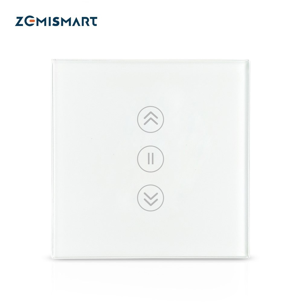 Zemismart زيجبي الاتحاد الأوروبي الستار التبديل SmartThing محور التحكم عن الكهربائية أعمى أنابيب دوارة مزودة بمحرك الظل