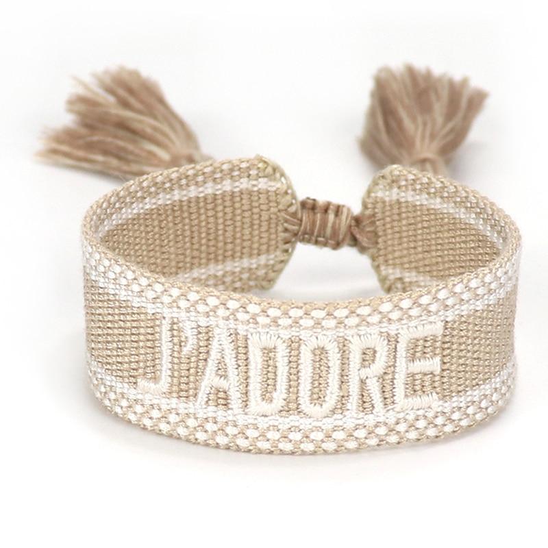Women Woven Tassel Bracelet Embroidery Braided Bracelets Wholesale Jewelry Gifts Boho Wrap Kid Girl