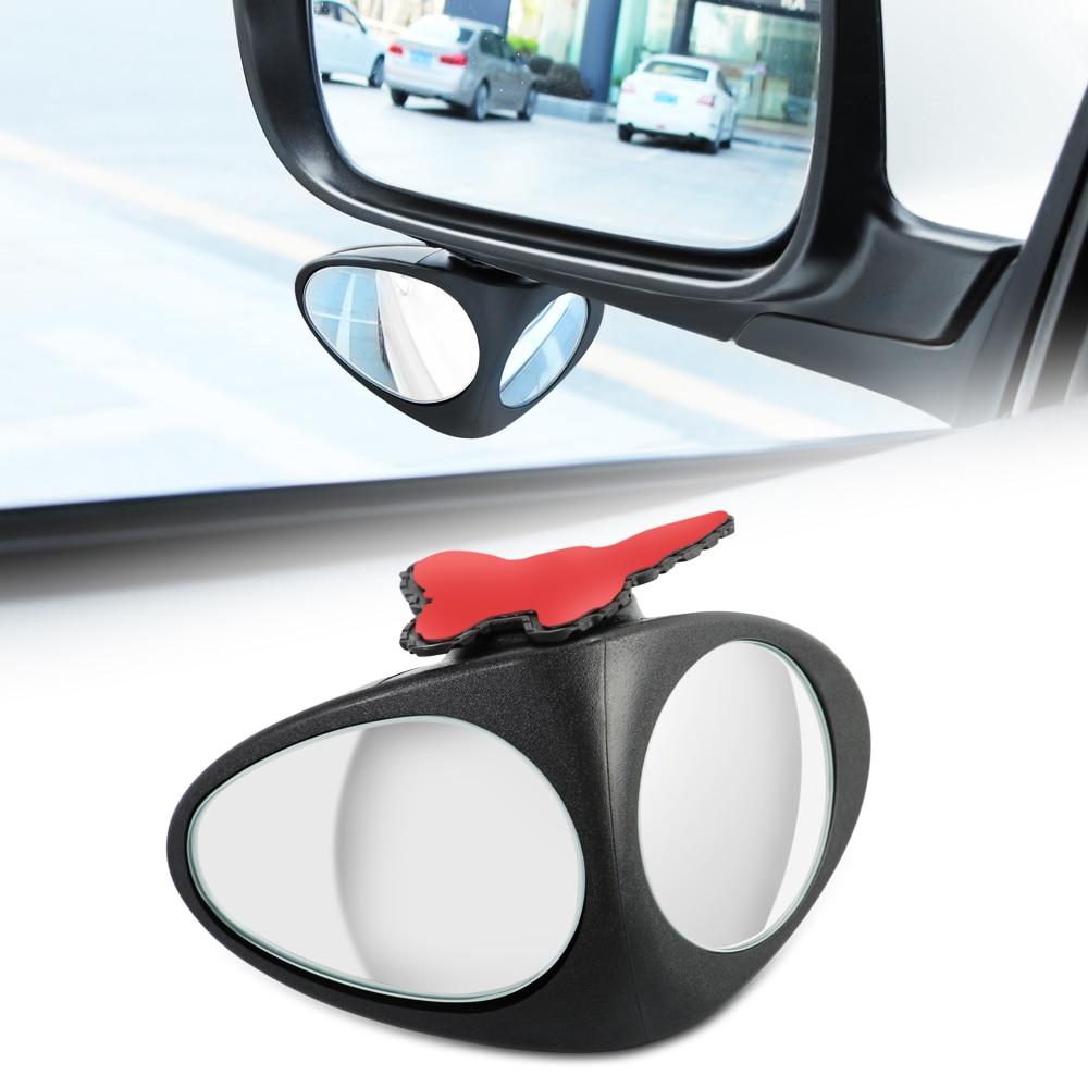 Car Spot Mirror 360 Degree Convex Rotatable for bmw serie 1 lifan smart roadster bmw e46 seat leon 1 mitsubishi outlander 3