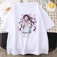 japan anime kawaii mikan tsumiki oversized tshirt women t shirts street girl top t shirt aesthetic cartoon casual female tshirt