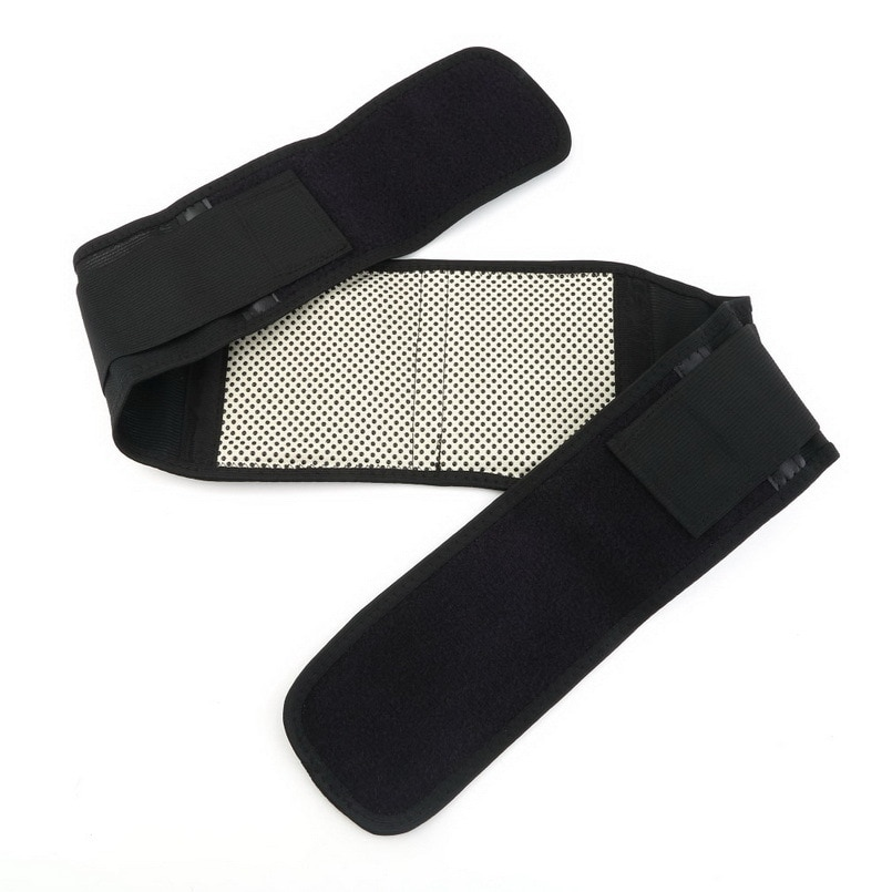 2020 New Adjustable Pad Tourmaline Magnetic Belt self-heating Lumbar Support Brace Double Banded