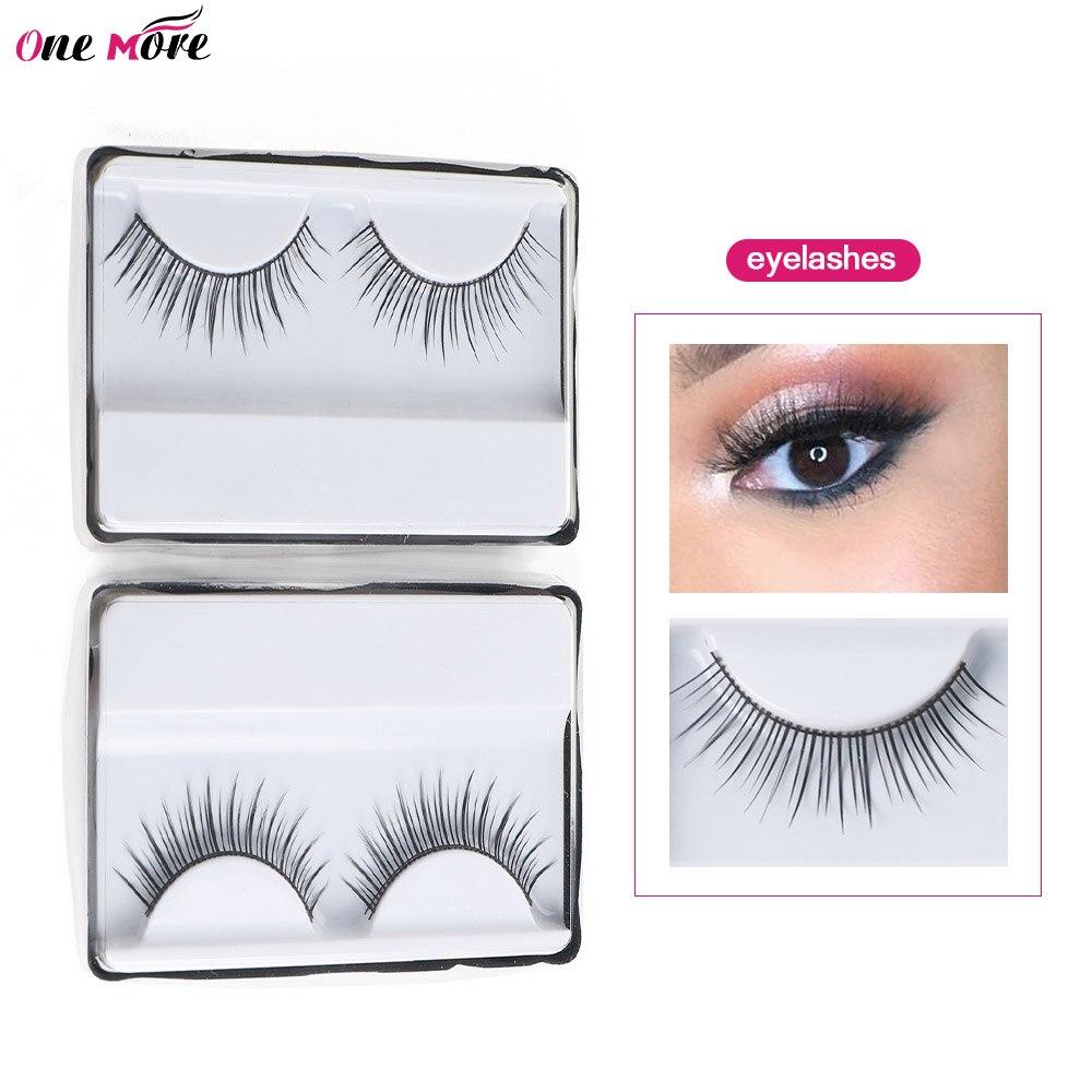 False Eyelashes Faux Mink Hair Wispy Criss-cross Fluffy Thick Natural Handmade Lash Cruel False Eyelash free Eye Makeup Tools