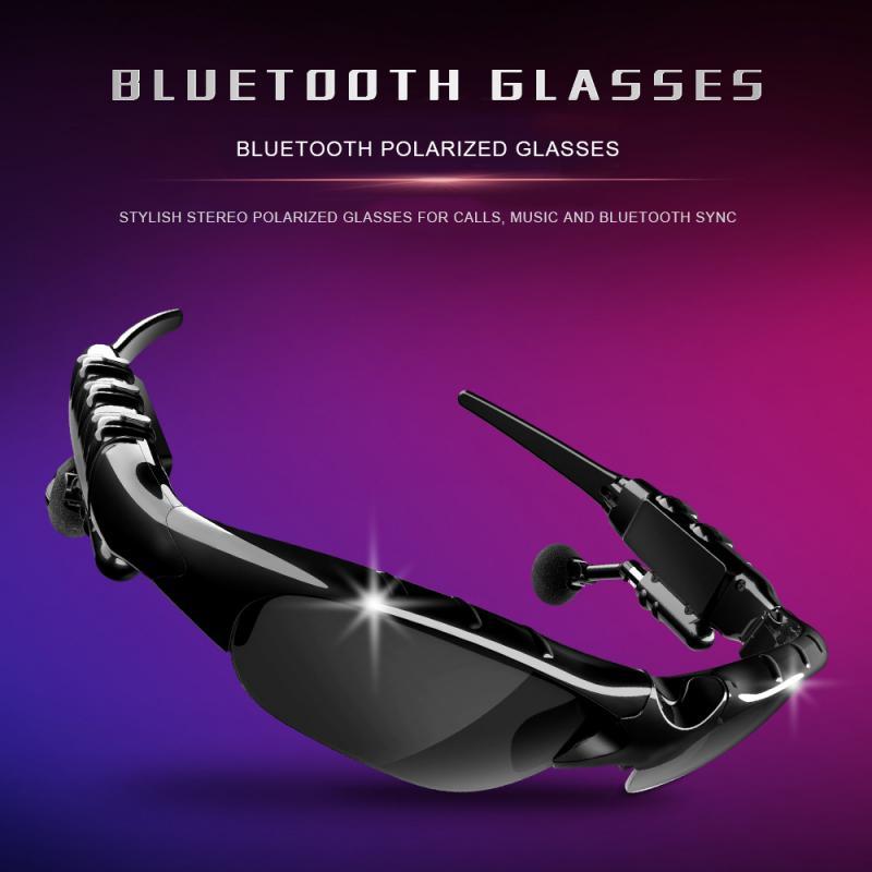 بلوتوث متوافق 5.0 النظارات الشمسية في الهواء الطلق نظارات ذكية للهواتف الذكية نظارات شمسية سماعات رأس لاسلكية الرياضة مع ميكروفون