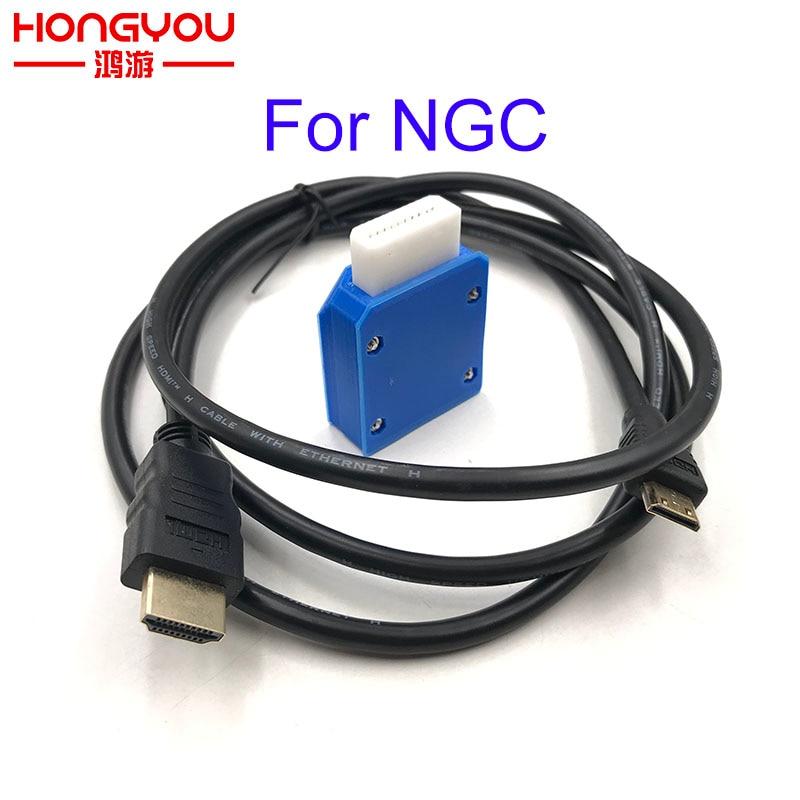 Para Nintendo Gamecube Mini HDMI adaptador W/ 5FT Cable HDMI para NGC