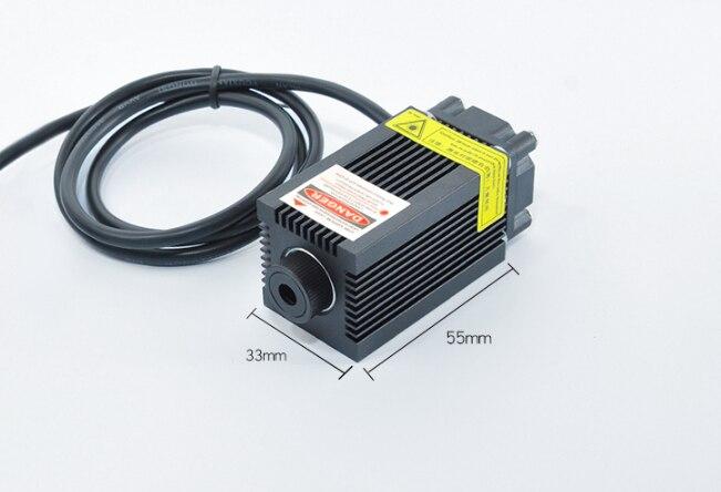 Фокусируемый 250 мВт 650 нм 660 нм высокая мощность красный точка точка лазер полупроводник модуль позиционирование лампа побег комната освещение