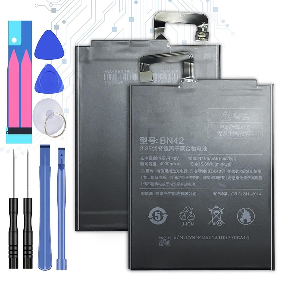 Kikiss-batería BN42 Original para Xiaomi Redmi Hongmi 4, para Redmi4 Hongmi4 BN,...