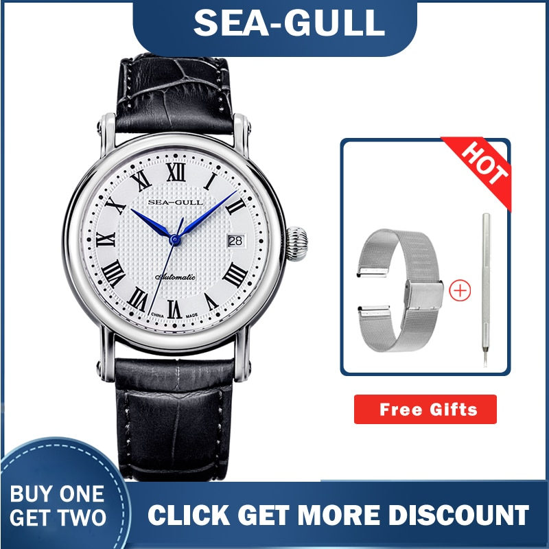 Seagull Watches 819.368 Roman Classic  Automatic Mechanical  Men's Watch 2021 Luxury New Style
