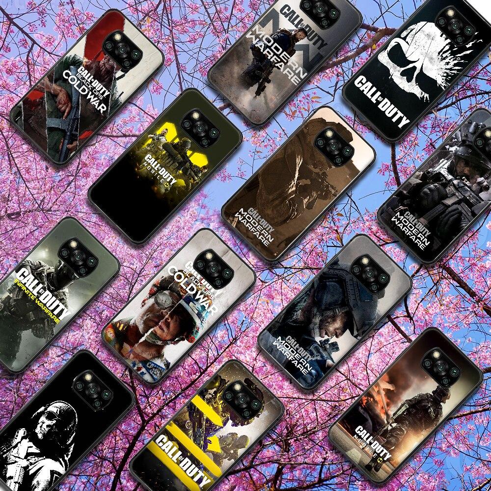 Juego de Call of Duty para funda de teléfono para Xiaomi Mi...