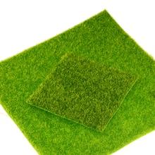 Mini gazon de bricolage bricolage 1 pièce   Simulation de jardin féerique, fausse mousse artificielle, gazon décoratif, gazon vert, Micro gazon décoratif paysage