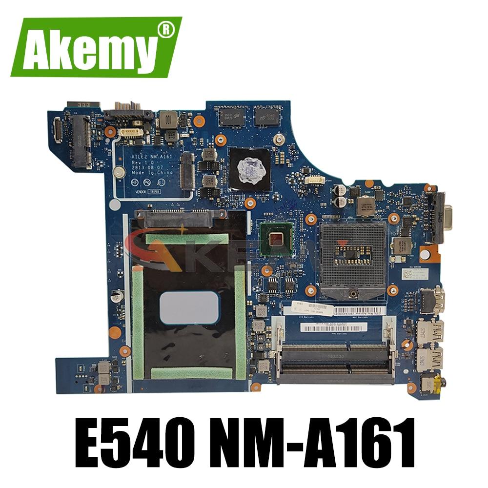 Akemy العلامة التجارية AILE2 NM-A161 لينوفو ثينك باد E540 اللوحة الأم P/N 04X5927 04X5928 GT840M 2G PGA947 HM87 DDR3