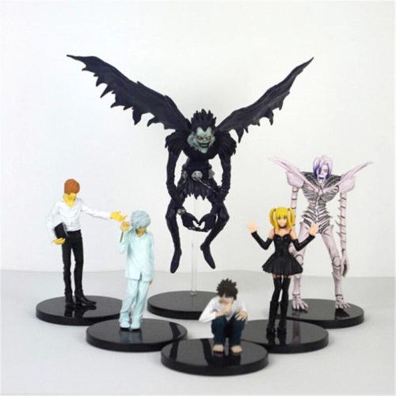 Anime la nota de muerte Ryuuku 15cm/6 de PVC modelo de figuras...