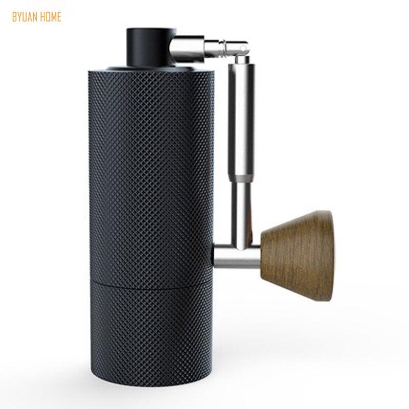 1pc nano nueva plegable MYY48 portátil de aluminio molinillo de café de acero de super manual molino de café rodamiento Dulex recomendar