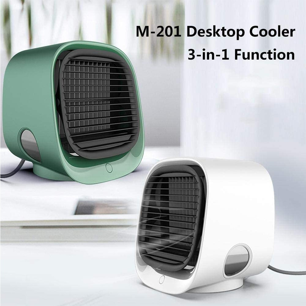 free shipping anion smart home air purifier air humidifier from ohmeka Air Cooler Smart ventilador Humidifier Purifier Portable Home Room Office 3 Speeds Desktop Quiet Cooling Fan Air Conditioning