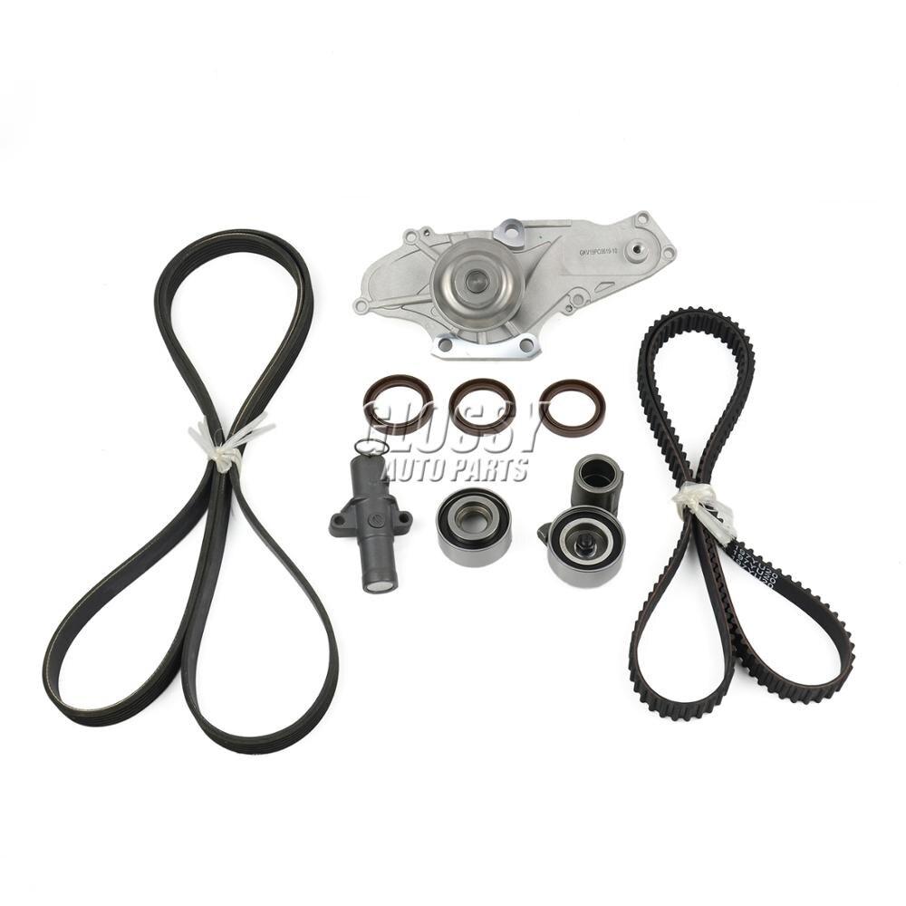 AP03 Timing Belt Kit with Water Pump & Tensioner for Honda Accord Odyssey Pilot Ridgeline/for Acura RL MDX TL 19200-RDV-J01