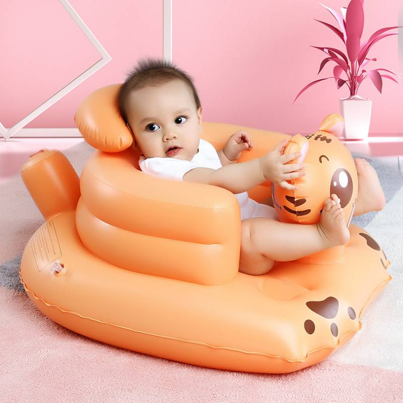 Children Furniture Silla Infantil Baby Cartoon надувной диван Детская мебель Backrest Learn To Sit Magic Seat Inflatable Sofa