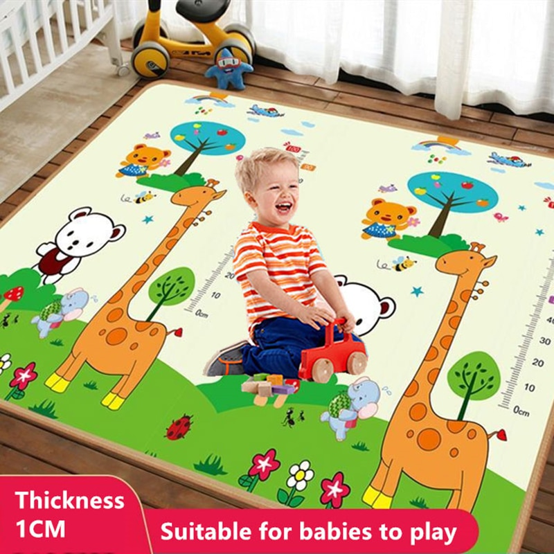 baby developing mat for newborn non toxic soft xpe foam baby climbing pad foldable activity gym for children playground kids rug 1cm Foldable Cartoon Baby Play Mat Xpe Puzzle Children's Mat Baby Climbing Pad Kids Rug Baby Games Mats Toys for Children