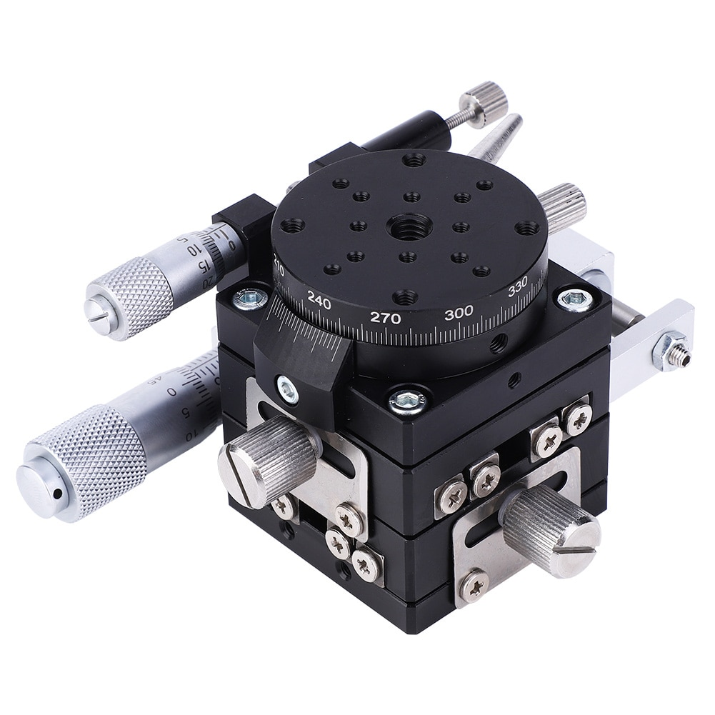 قابل للتعديل LSP40 LM XYR 3 محاور التشذيب منصة دليل منصة خطية ضبط انزلاق الجدول